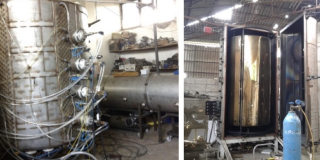 PVD : Metalize Kaplama Makinelerinin İmalatı