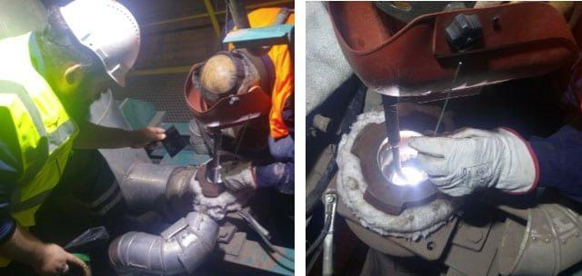kaynaklı tamir işleri & malzemelerin imalat resimlerinin hazırlanması