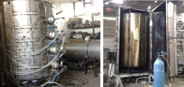 pvd metalize kaplama makineleri imalatı & bakım onarım ve revizyonları